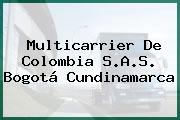 Multicarrier De Colombia S.A.S. Bogotá Cundinamarca