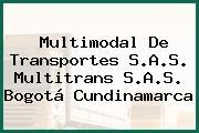 Multimodal De Transportes S.A.S. Multitrans S.A.S. Bogotá Cundinamarca