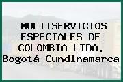 MULTISERVICIOS ESPECIALES DE COLOMBIA LTDA. Bogotá Cundinamarca