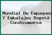 Mundial De Empaques Y Embalajes Bogotá Cundinamarca