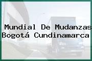 Mundial De Mudanzas Bogotá Cundinamarca