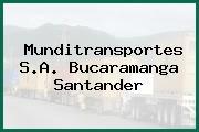 Munditransportes S.A. Bucaramanga Santander