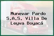 Munevar Pardo S.A.S. Villa De Leyva Boyacá