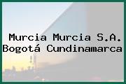 Murcia Murcia S.A. Bogotá Cundinamarca