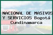 NACIONAL DE MASIVOS Y SERVICIOS Bogotá Cundinamarca