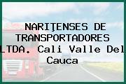 NARIÞENSES DE TRANSPORTADORES LTDA. Cali Valle Del Cauca