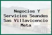 Negocios Y Servicios Seandes Sas Villavicencio Meta