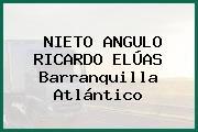 NIETO ANGULO RICARDO ELÚAS Barranquilla Atlántico