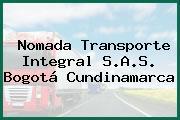 Nomada Transporte Integral S.A.S. Bogotá Cundinamarca