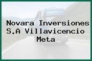 Novara Inversiones S.A Villavicencio Meta
