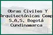 Obras Civiles Y Arquitectónicas Cemp S.A.S. Bogotá Cundinamarca