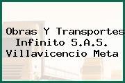 Obras Y Transportes Infinito S.A.S. Villavicencio Meta