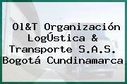 Ol&T Organización LogÚstica & Transporte S.A.S. Bogotá Cundinamarca