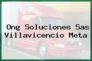 Ong Soluciones Sas Villavicencio Meta