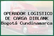 OPERADOR LOGISTICO DE CARGA DIBLANK Bogotá Cundinamarca