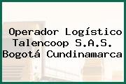 Operador Logístico Talencoop S.A.S. Bogotá Cundinamarca