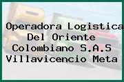 Operadora Logistica Del Oriente Colombiano S.A.S Villavicencio Meta