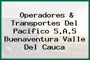 Operadores & Transportes Del Pacifico S.A.S Buenaventura Valle Del Cauca
