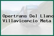 Opertrans Del Llano Villavicencio Meta