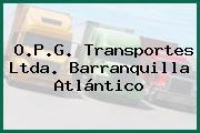 O.P.G. Transportes Ltda. Barranquilla Atlántico