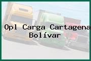 Opl Carga Cartagena Bolívar