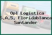 Opl Logistica S.A.S. Floridablanca Santander