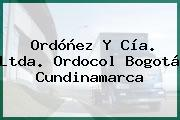Ordóñez Y Cía. Ltda. Ordocol Bogotá Cundinamarca