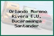 Orlando Moreno Rivera E.U. Bucaramanga Santander