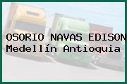 OSORIO NAVAS EDISON Medellín Antioquia