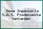 Ossa Ingeniería S.A.S. Piedecuesta Santander