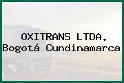 OXITRANS LTDA. Bogotá Cundinamarca