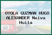 OYOLA GUZMAN HUGO ALEXANDER Neiva Huila