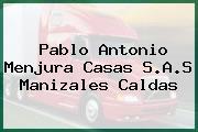 Pablo Antonio Menjura Casas S.A.S Manizales Caldas