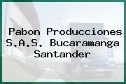 Pabon Producciones S.A.S. Bucaramanga Santander