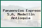 Panaenvíos Express S.A. Medellín Antioquia