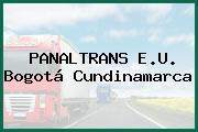 PANALTRANS E.U. Bogotá Cundinamarca