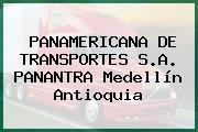 PANAMERICANA DE TRANSPORTES S.A. PANANTRA Medellín Antioquia