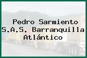 Pedro Sarmiento S.A.S. Barranquilla Atlántico