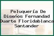 Peluquería De Diseños Fernandad Duarte Floridablanca Santander