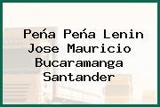 Peña Peña Lenin Jose Mauricio Bucaramanga Santander