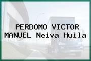 PERDOMO VICTOR MANUEL Neiva Huila