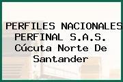 PERFILES NACIONALES PERFINAL S.A.S. Cúcuta Norte De Santander