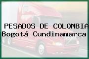 PESADOS DE COLOMBIA Bogotá Cundinamarca