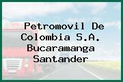 Petromovil De Colombia S.A. Bucaramanga Santander