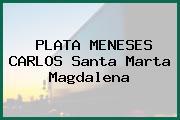 PLATA MENESES CARLOS Santa Marta Magdalena