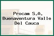 Procam S.A. Buenaventura Valle Del Cauca