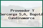 Proveedor Y Sercarga S.A. Bogotá Cundinamarca