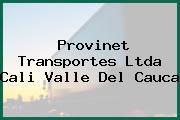 Provinet Transportes Ltda Cali Valle Del Cauca