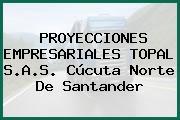 PROYECCIONES EMPRESARIALES TOPAL S.A.S. Cúcuta Norte De Santander