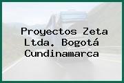 Proyectos Zeta Ltda. Bogotá Cundinamarca